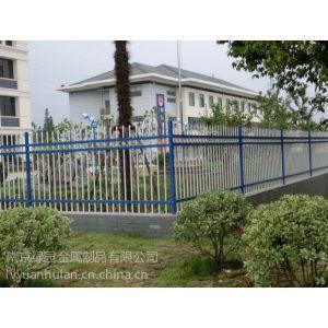 供应专业生产安徽别墅围墙护栏 安徽热镀锌烤漆围墙护栏 安徽锌钢浸塑围墙护栏