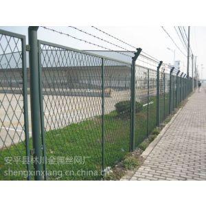 供应框架护栏网又称为边框式防攀焊接片网框架隔离栅