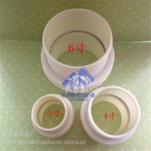 供应3寸4寸6寸ABS塑料接头 水管水带软管对接 快速修补75.100.150mm