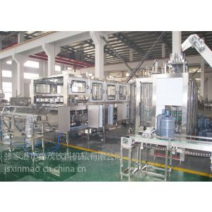 供应桶装水生产线QGF-900 5加仑水灌装机