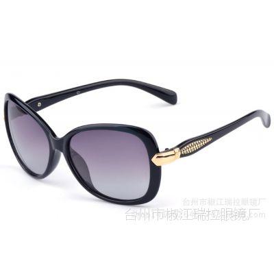 RILAI新款时尚女士偏光太阳镜渐变偏光镜女款 太阳镜 女正品A175