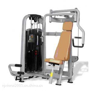 供应坐姿推胸训练器 训练部位:胸肌 肩三角肌 肱三头肌