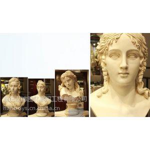 供应汉博人物头像雕塑主题雕塑现代古代人物雕塑抽象雕塑雕塑底座