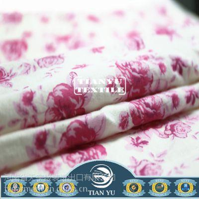 [天宇面料]全棉印花绒布 法兰绒布 睡衣面料 儿童服装面料