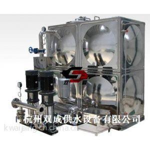 供应杭州双成智能化箱式无负压供水设备