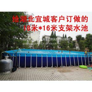 供应支架游泳池 框架游泳池 移动游泳池 移动水池郑州广源游乐