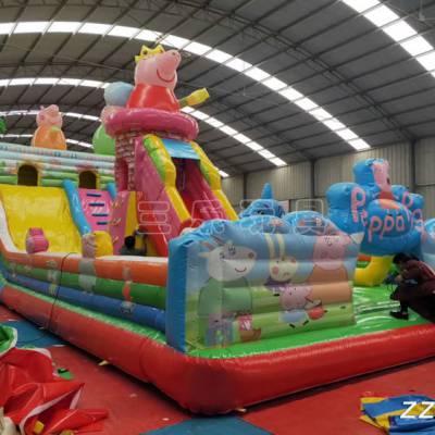 供应大型充气玩具包/河南许昌订做一个充气蹦蹦床需要多少钱/熊出没充气蹦蹦床