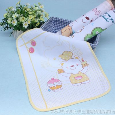 萌宝儿隔尿用品 卡通印花婴儿尿垫小号 宝宝 尿垫隔尿床垫1316