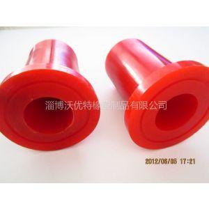 供应工业设备配件聚氨酯胶套|各种大小规格红色聚氨酯胶轮|传动橡胶轮
