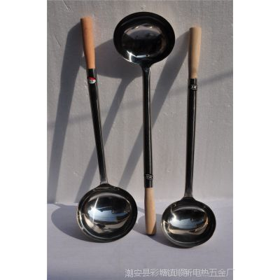 厨房用品批发 不锈钢烹饪厨具 大号炒勺 锅勺 汤勺 勺铲特价批发