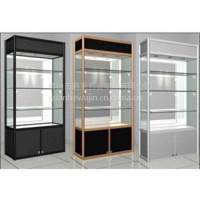 供应厂家热销展示柜 精品展示柜 产品陈列展柜 铝合金荣誉展示柜制作