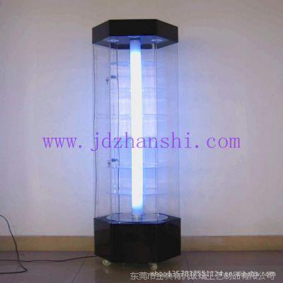 有机玻璃展示柜 有机玻璃电动旋转展示柜 展示用品