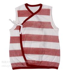 外贸原单婴儿系带全棉背心内衣厂家特价甩卖 批发