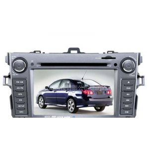 供应7 寸宽屏高清丰田卡罗拉专用车载导航双锭车载DVD带蓝牙和方向盘控制