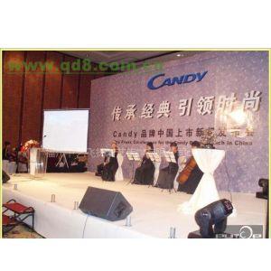 福州酒店会议舞台背景板设计制作搭建公司、福州会议演出、福建宴会演艺、会场布置、设备租赁