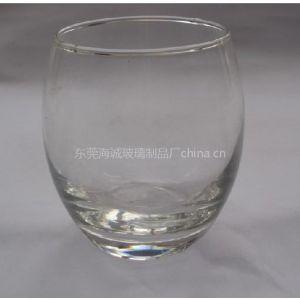 海成供应BL65玻璃蛋型高脚杯身高硼硅玻璃烛台
