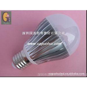 供应大功率LED5W球泡灯 LED5W球泡灯 室内LED照明灯 深圳LED灯泡厂家