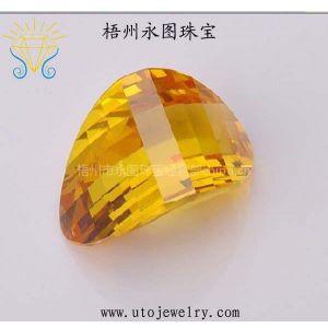 供应永图珠宝直销优质锆石CZ 厂家直销人造宝石裸石