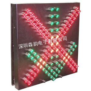 供应600型红叉绿箭雨棚灯,像素筒雨棚灯,车道指示灯