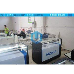 供应诺基亚手机展示柜、新款手机柜台、开放式体验柜