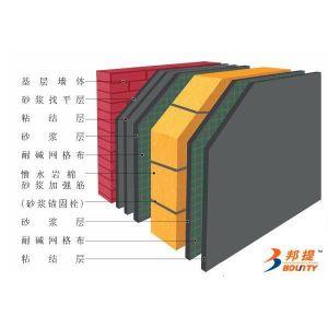 供应岑溪红饰面岩棉夹芯复合板