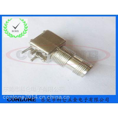 供应TNC锌合金四脚90度射频同轴连接器