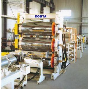 供应土工格栅及防水卷材生产线