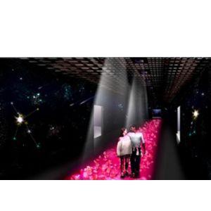 迪拓科技 供应地面互动投影 背面散射光照明多点触摸