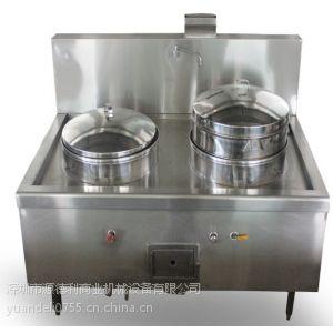 供应不锈钢中式双头蒸包炉 燃气包子炉 早餐店餐饮创业设备