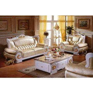 供应W307S#欧式沙发,真皮沙发
