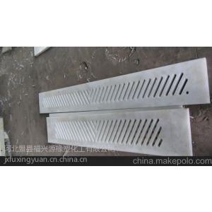供应供应造纸机械尼龙配件:吸水箱盖板,导流板,刮水板,水翼等