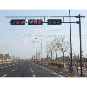 供应交通信号灯杆、深圳L型信号灯杆厂家、八棱角L型信号灯杆、炭素结构钢八角杆、红绿灯杆价格