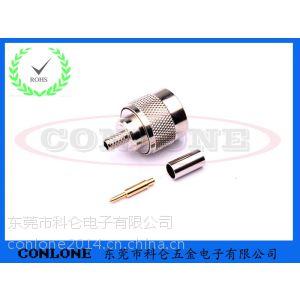 N型公头焊线连接头N-J3,N型射频同轴连接器