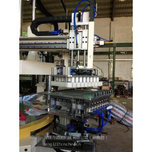供应两工位,三工位立式转盘射出机,全自动灯头注塑机