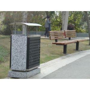 供应大理石公园环保果皮箱 室外垃圾桶收集箱垃圾桶