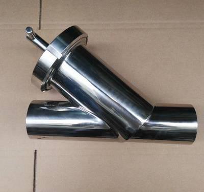 供应不锈钢卫生级Y型过滤器