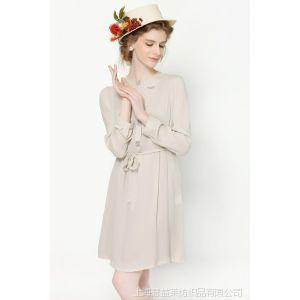 供应MADEWELL原单中腰连衣裙新款两件套纯色真丝连衣裙夏季桑蚕丝女裙