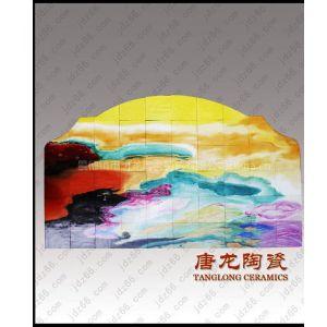 供应手绘陶瓷壁画 景德镇瓷板画 陶瓷工艺画