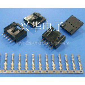 供应TJC8 杜邦2.54-5P带锁带扣胶壳 插销式胶壳 直弯针座 杜邦端子 电脑连接器 接插件