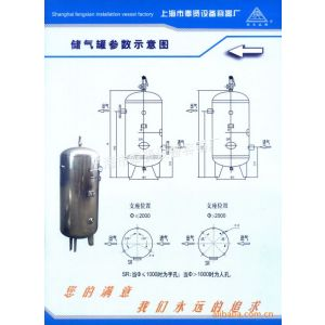 50p不锈钢储气罐BCQG0.599M3/1Mpa