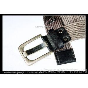 供应时尚腰带  真皮 皮革 PVC  织带腰带 编织腰带 手工腰带