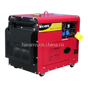 供应5KW家用低噪音静音风冷发电机组柴油DG7000SE