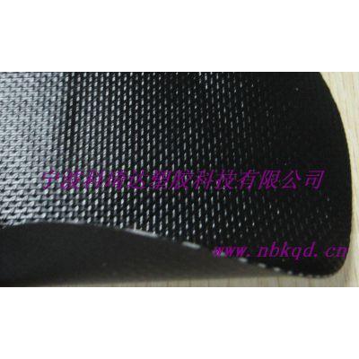 供应0.55mm雾面哑光PVC夹网布用于箱包