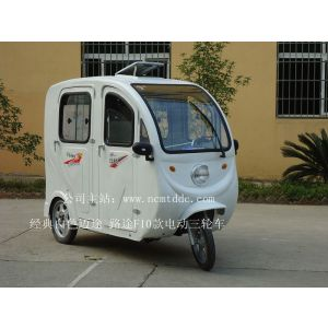 供应南昌工厂直销路途 迈途白色拉客型全封闭三轮车F10款全新开启新市场