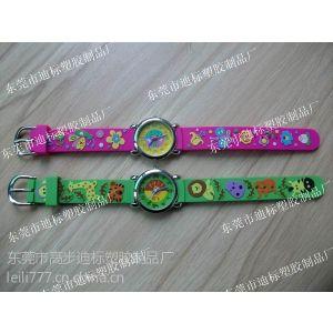 供应滴胶3D手表带,卡通动漫手表带,硅橡胶儿童手表带