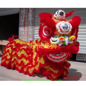 供应苏州龙狮供应 民俗表演:红色毛驴(驴马)
