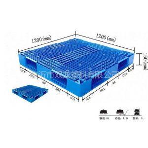 供应供应面粉厂用耐低温1212双面塑料托盘