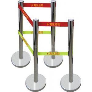 供应绝缘安全围栏//不锈钢带式伸缩围栏