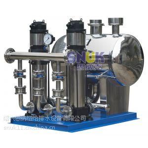 供应绍兴思纳格牌高位调蓄叠压供水设备