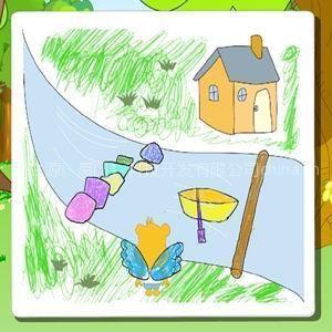 供应幼儿绘画启蒙教材 小小艺术家从右脑绘画开始